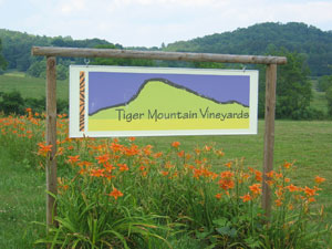 Tiger Mountain sign